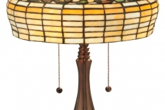 TIFFANY STYLE TABLE LAMP 15