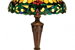 TIFFANY STYLE TABLE LAMP 18