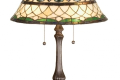 TIFFANY STYLE TABLE LAMP 22