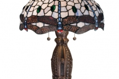 TIFFANY STYLE TABLE LAMP 23