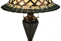 TIFFANY STYLE TABLE LAMP 29