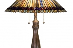TIFFANY STYLE TABLE LAMP 38