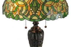 TIFFANY STYLE TABLE LAMP 4