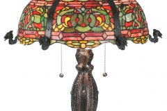 TIFFANY STYLE TABLE LAMP 40