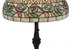 TIFFANY STYLE TABLE LAMP 42