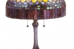 TIFFANY STYLE TABLE LAMP 8
