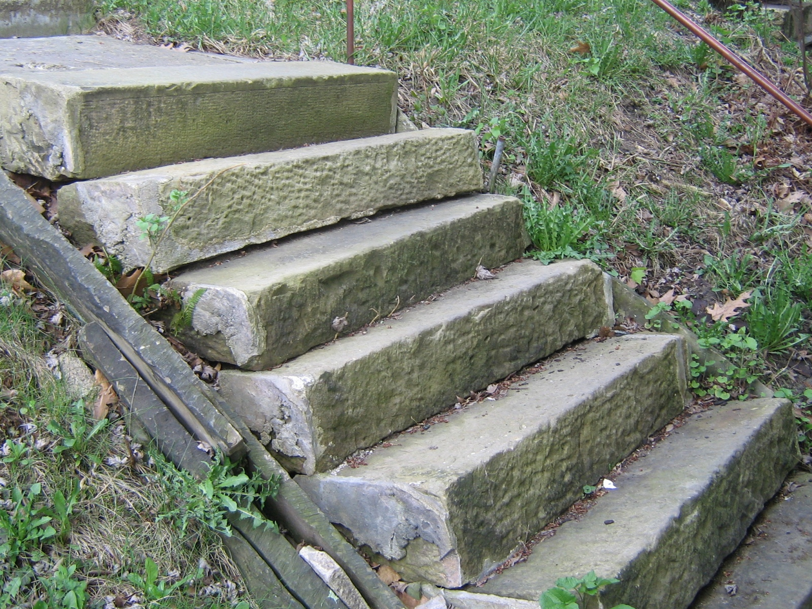 ANTIQUE SANDSTONE  STEPS