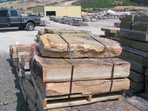 NATURAL EAST MOUNTAIN SANDSTONE STEPS