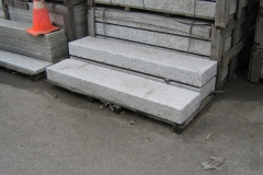 New Bush-Hammered GRANITE STEPS