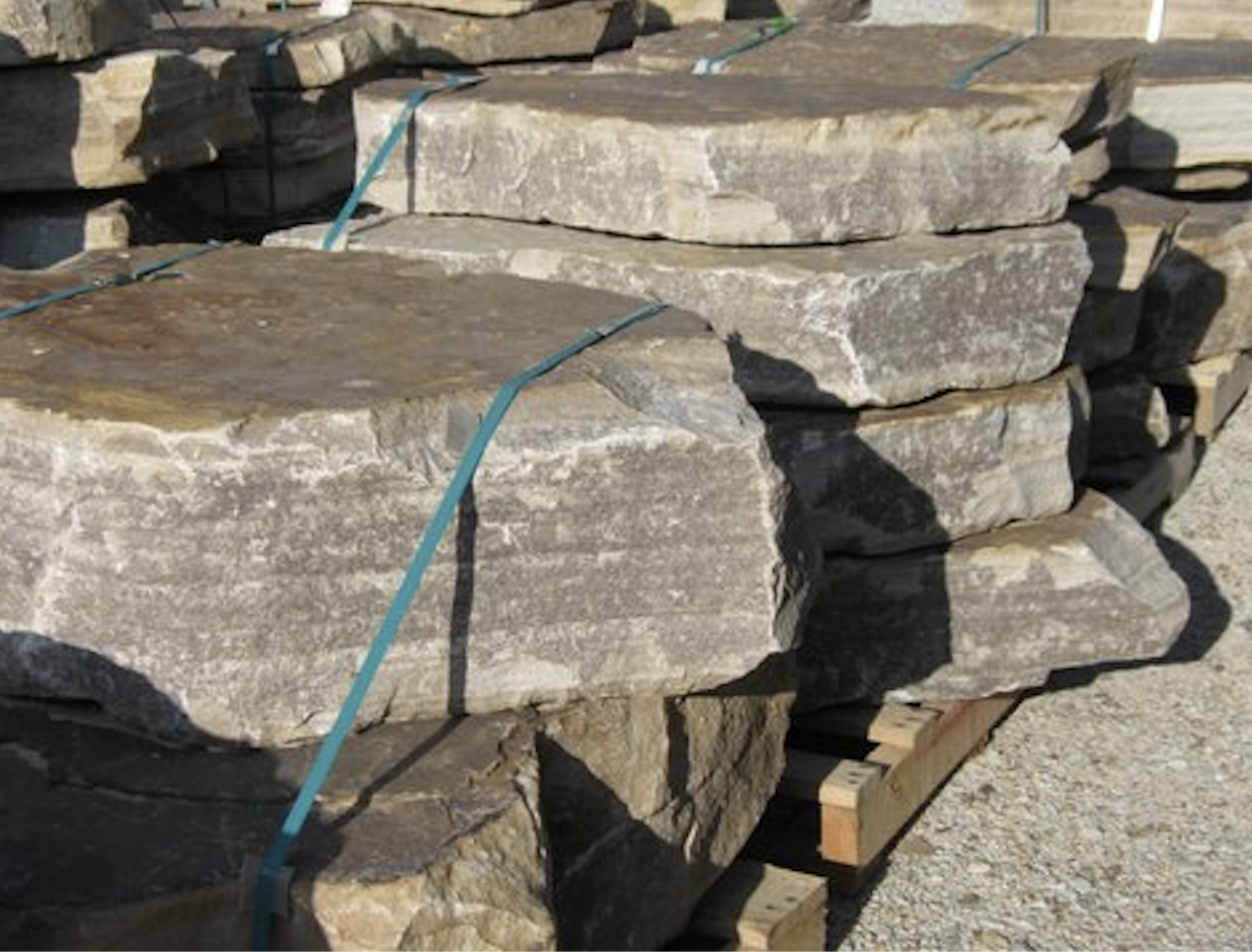 BIG SLAB SANDSTONE WALL STONE
