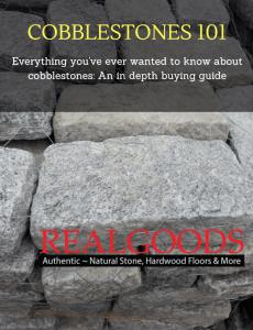 Cobblestones 101