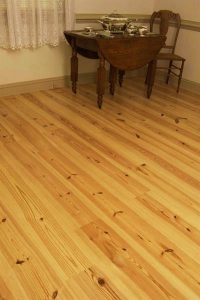 Yellow Pine floors
