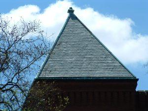 flat roof tiles