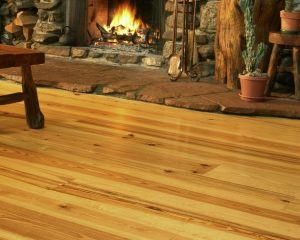 Wide Plank Southern Yellow Pine floors